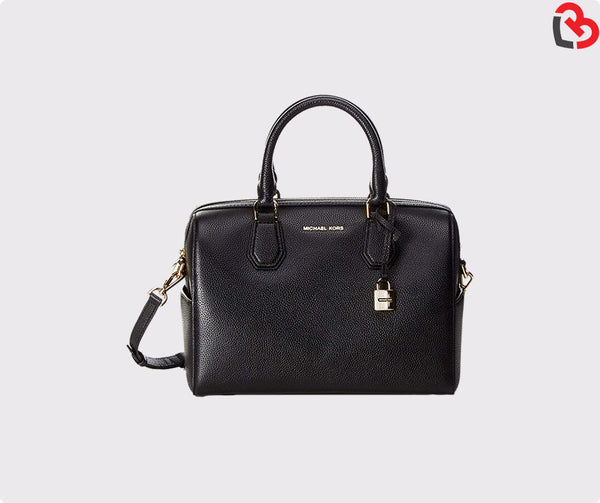 Michael Kors Handbags Fire Mk Mercer Leather Duffle