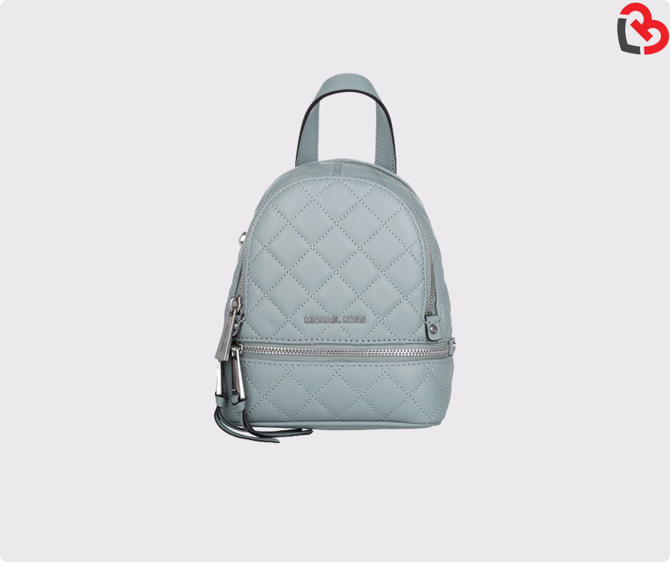 b9759f477237 Michael Kors Rhea Extra-Small Quilted-Leather Backpack