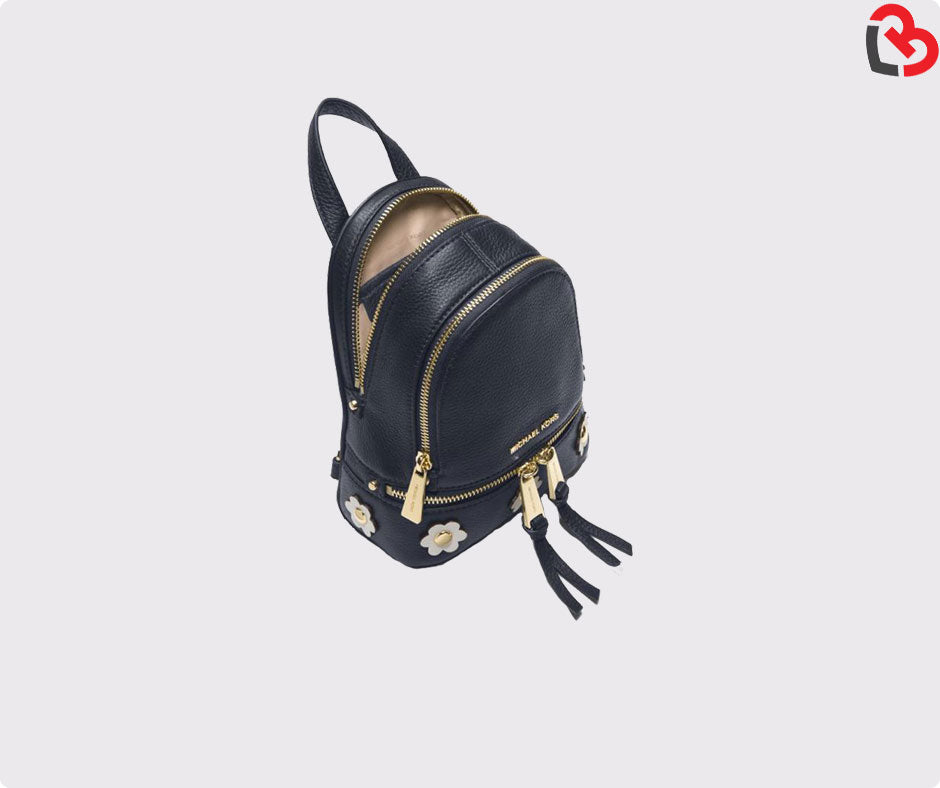 523b3be2bbb7 Michael Kors Rhea Mini Floral Applique Leather Backpack