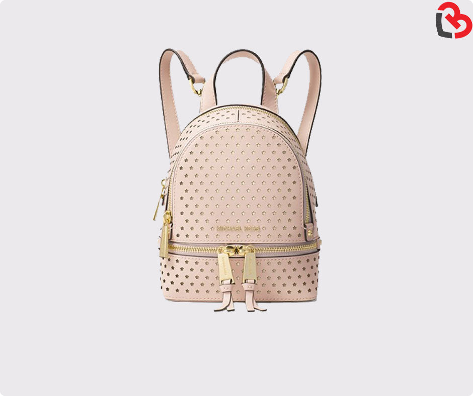 7533c88df033 Michael Kors Rhea Mini Perforated Leather Backpack | Lovebite MY