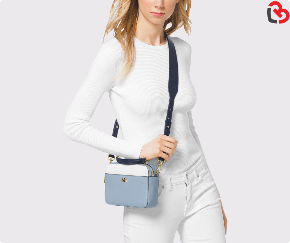 b35d01fb168373 Michael Kors Mott Mini Colour Block Crossbody Bag | Lovebite MY