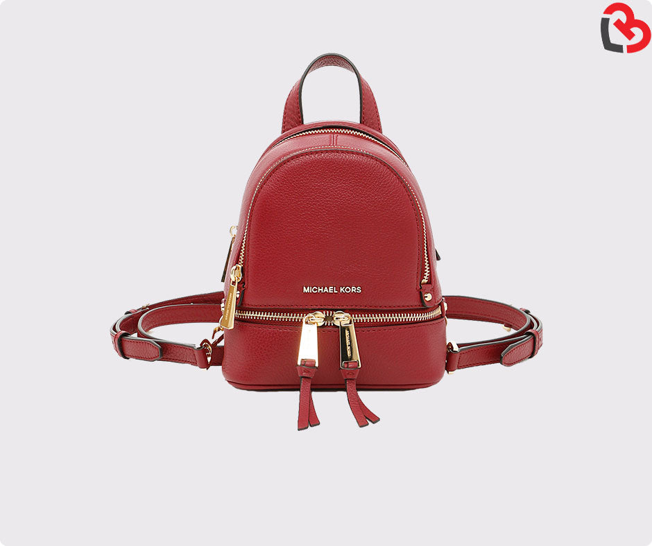 54c1e75a86895a Michael Kors Rhea Extra-Small Leather Backpack | Lovebite MY