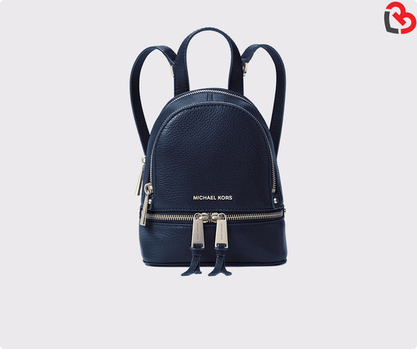Michael Kors Rhea Extra-Small Leather Backpack