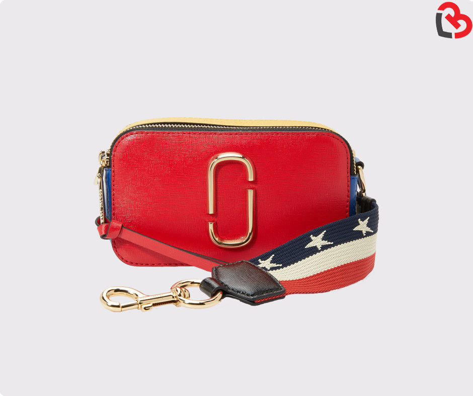 9137c2e951 Marc Jacobs Red Snapshot Small camera Bag | Lovebite MY