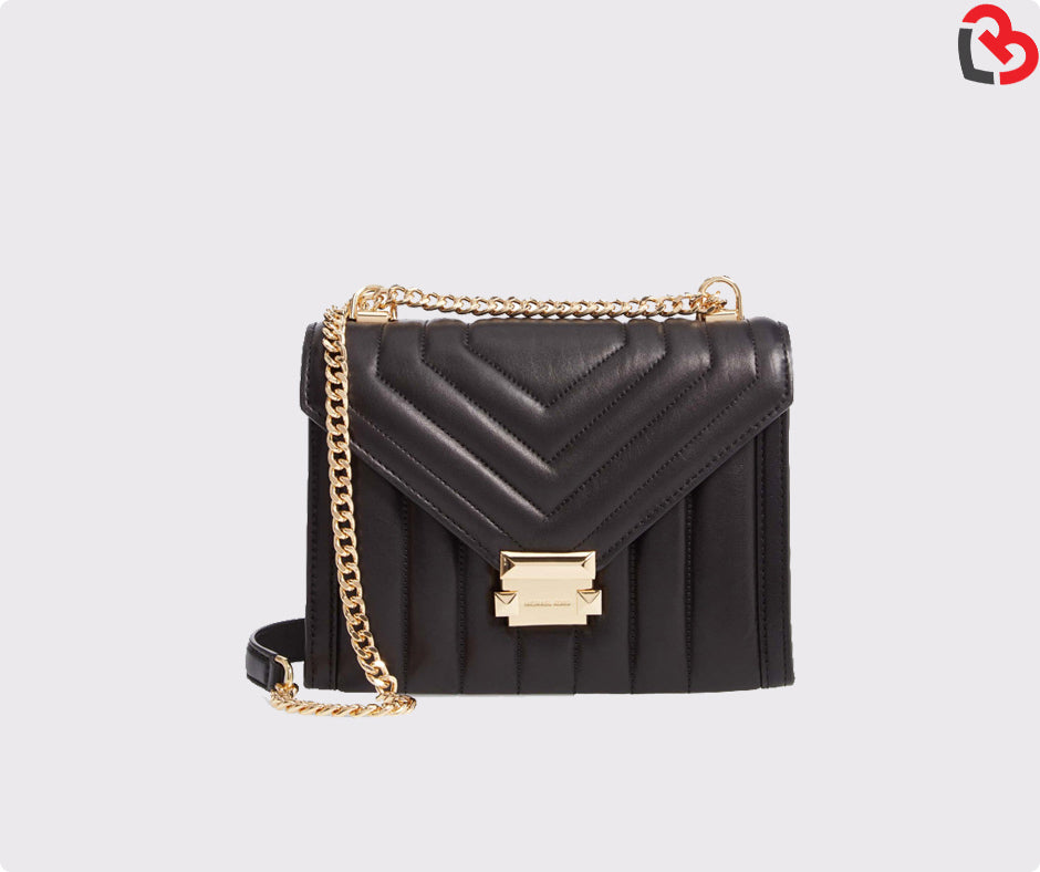 6e8bcb7355e8ef Michael Kors Whitney Large Quilted Leather Convertible Shoulder Bag