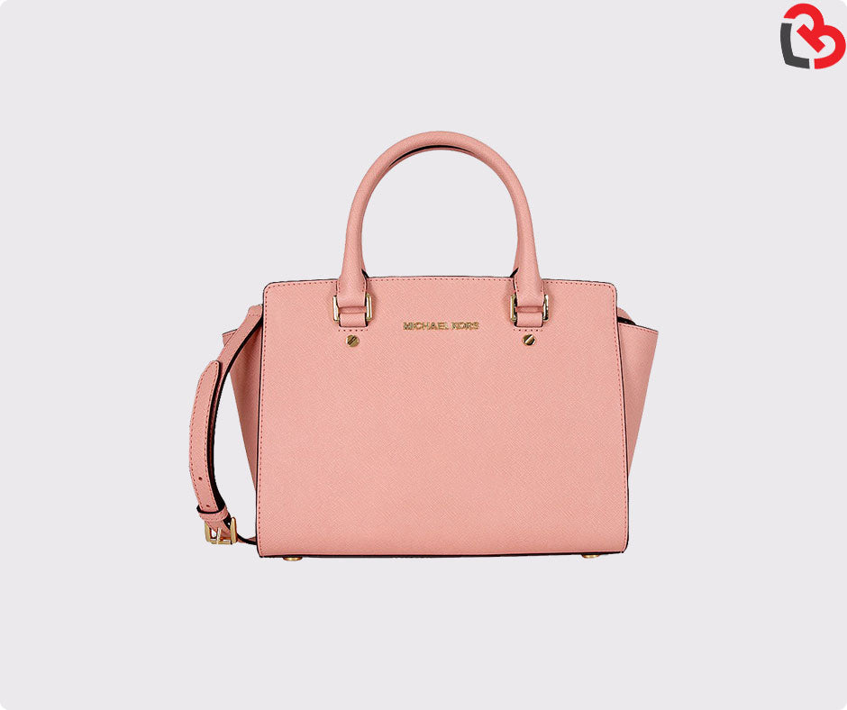 0ac4cb343775 Michael Kors Selma Saffiano Leather Medium Satchel | Lovebite MY