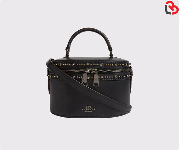 Coach Black Selena Trail bag Black