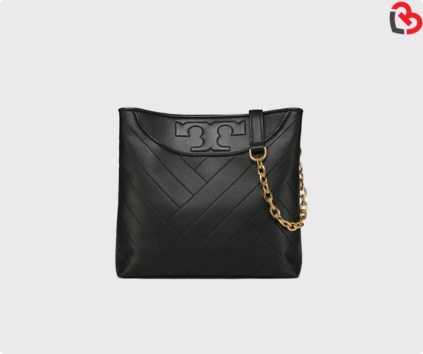 Tory Burch Alexa Small Tote Black