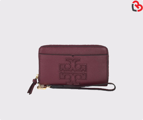Tory Burch Harper Learher Iphone 6/6s Wristlet