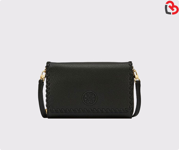 Tory Burch Marion Flat Wallet Cross-Body