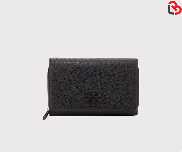 Tory Burch Mcgraw Flat Wallet Crossbody