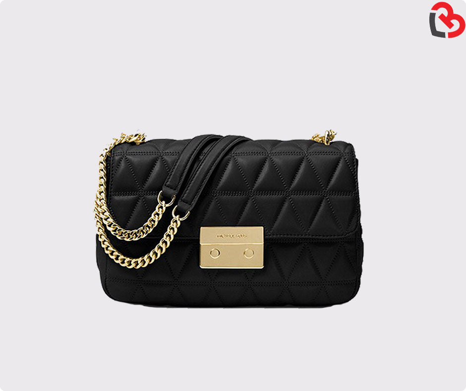 b76e238a0a42 Michael Kors Sloan Large Quilted-Leather Shoulder Bag | Lovebite MY