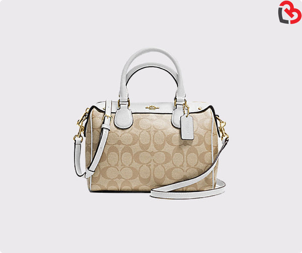 Coach Mini Bennett Satchel In Signature