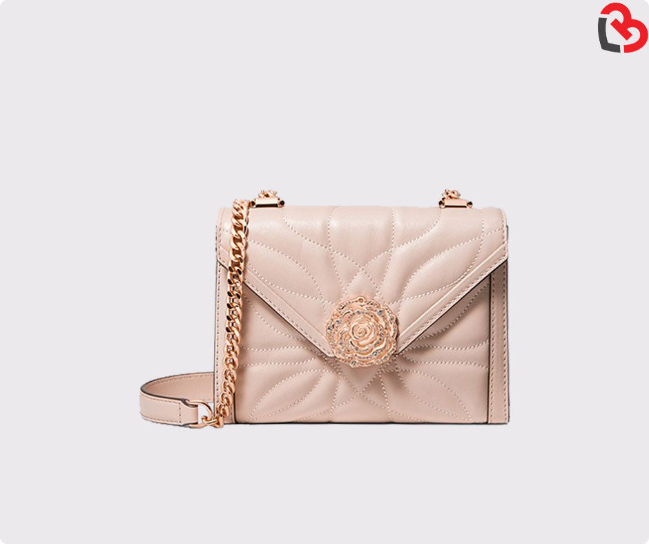 5fde1807957847 Michael Kors Whitney Large Petal Quilted Leather Convertible Shoulder Bag