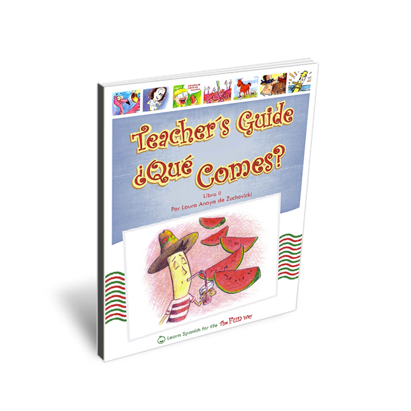 ¿Qué comes?, Teacher's Guide