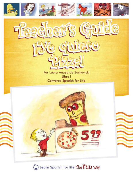 Yo quiero pizza, Teacher's Guide