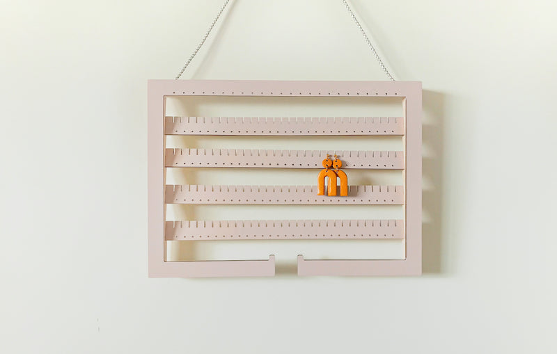 Paint Your Hanging Adjustable Earring Holder