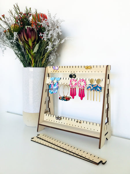 Adjustable Earring Stand