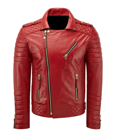 Slim Fit Genuine Leather Vintage Jacket 2019
