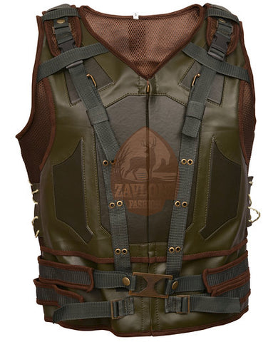 Batman - Genuine Leather Black Bane Vest