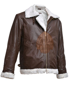 WW 2 B3 Bomber Pilot Flight Aviator Flying Bomb Leather Jacket