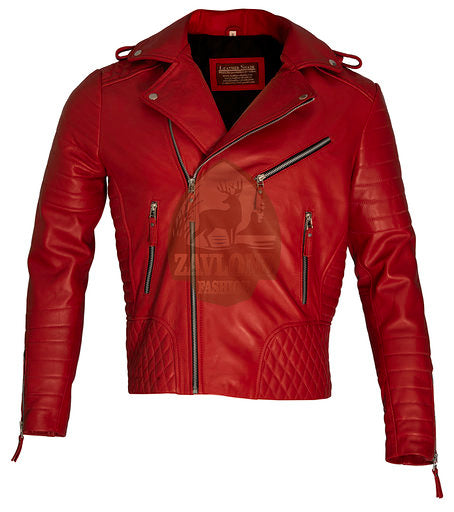 Slim Fit Genuine Leather Vintage Jacket 2020