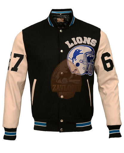 Beverly Hills Cop Axel Foley Detroit Vintage Biker Sports Leather Jacket