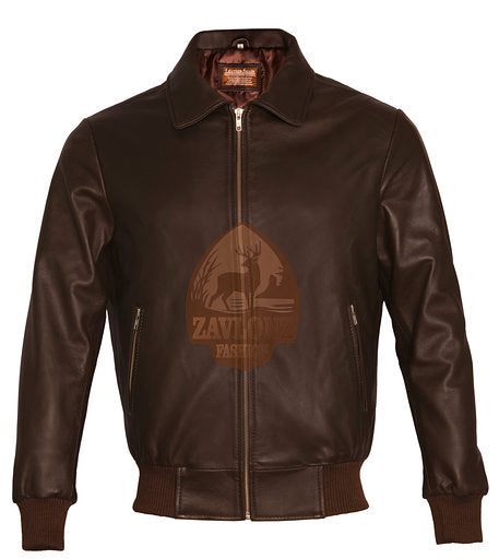 Genuine Leather Biker Jacket 2020