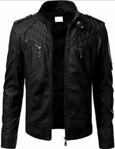 Genuine Leather Jacket Black