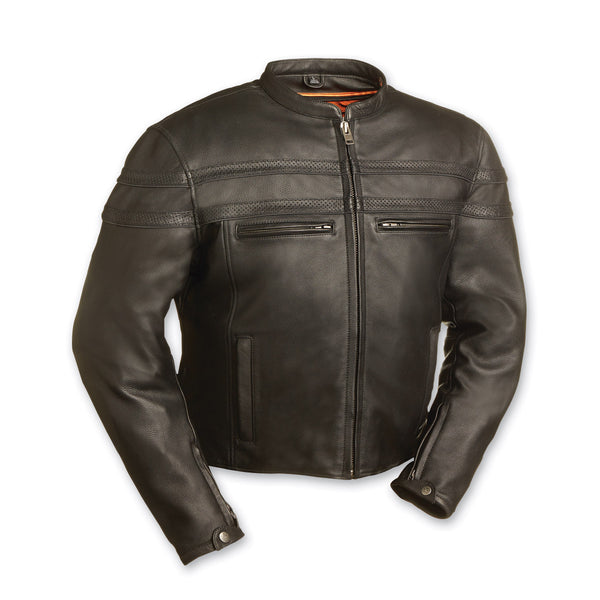 Vintage Genuine Leather Jacket Black 2020