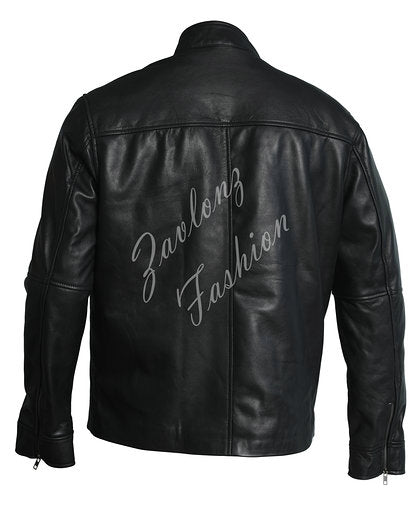 Buy Black Leather Jacket Vin Diesel Fast & Furious