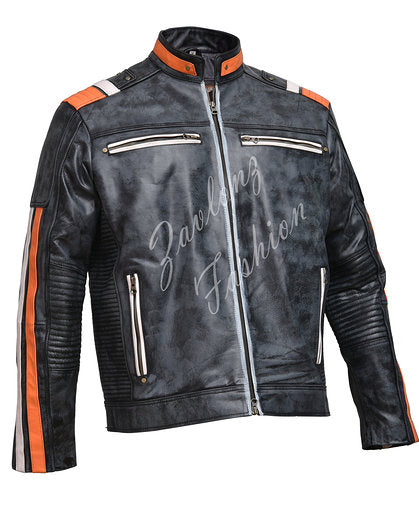 Cafe Racer Retro 3 Distressed
