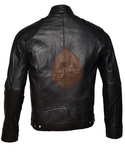 Cafe Racer Vintage Genuine Leather Jacket