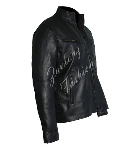 Order Online Black Leather Jacket Vin Diesel