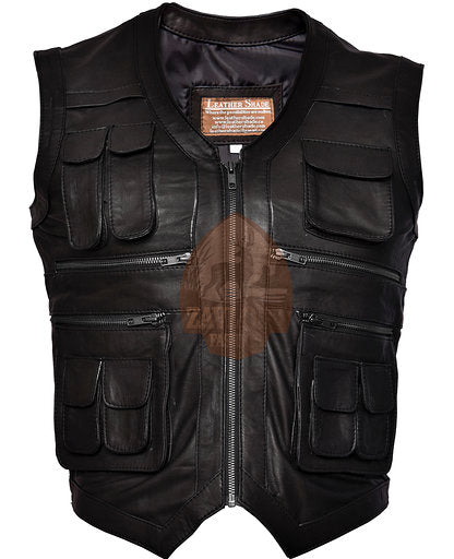 Buy Real Leather Vest