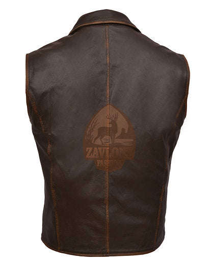 Genuine Leather Vest