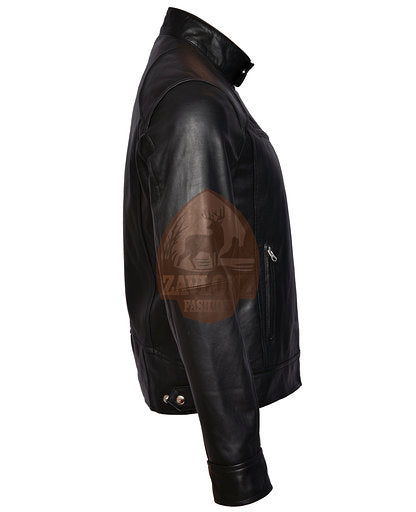 Genuine Leather Jacket Black or Brown