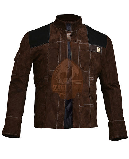 Suede Genuine Leather Jacket - Han Solo Star Wars 2020