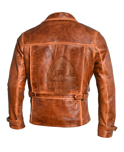 captain america leather jacket endgame