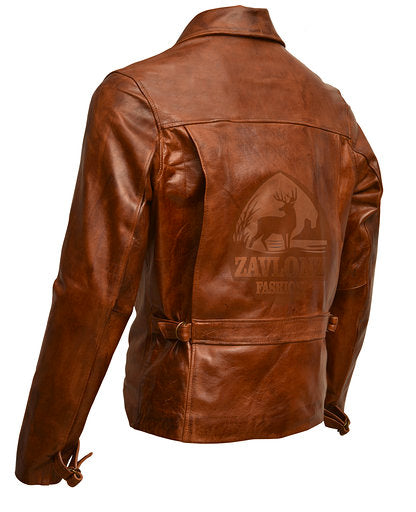 Captain America Avengers End Game Leather Jacket