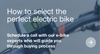 How to choose an electric bike