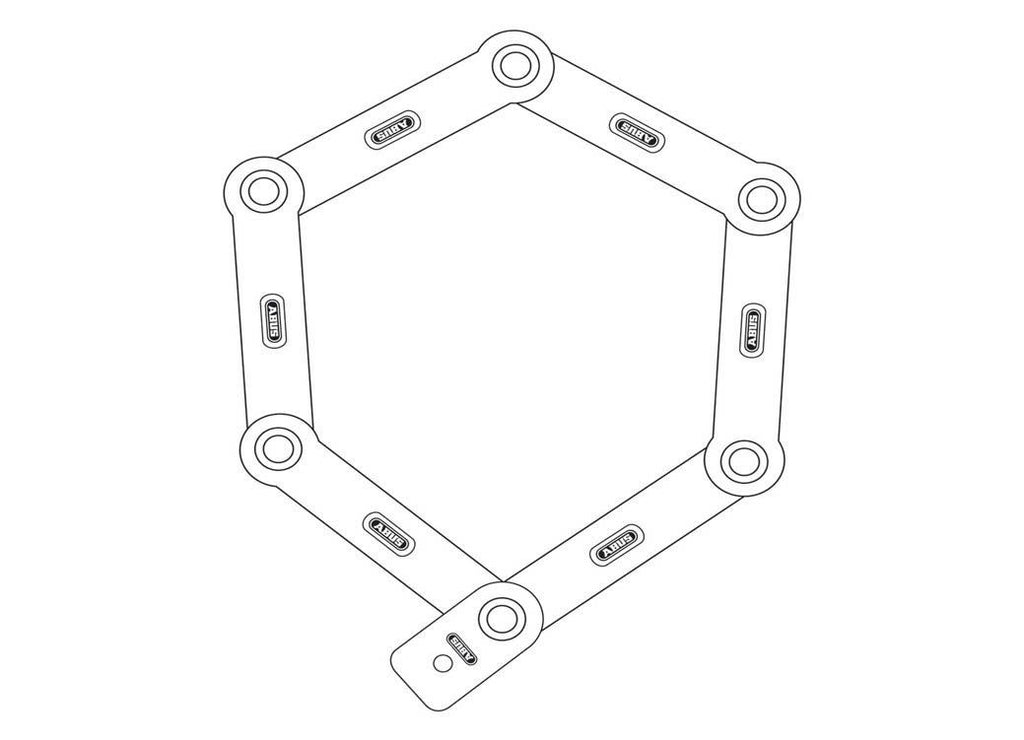 Abus Bordo 6500 Diagram