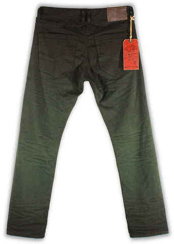 150-139M Peridot Green Jean - Rivet De Cru Jeans - Premium Denim - Mens Fashion - Mens Clothing - Mens Jeans - Mens Denim - 2