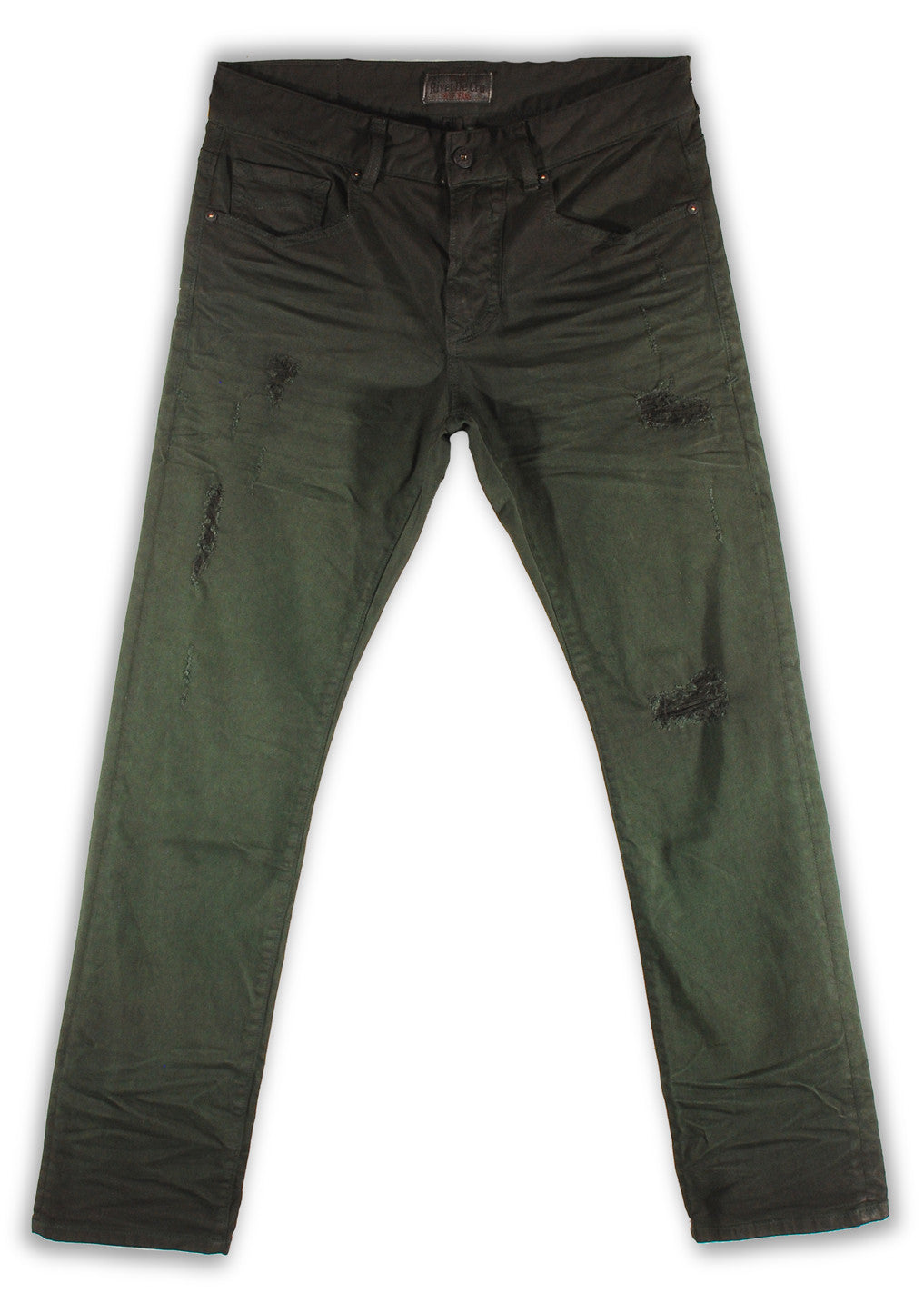 150-139M Peridot Green Jean - Rivet De Cru Jeans - Premium Denim - Mens Fashion - Mens Clothing - Mens Jeans - Mens Denim - 1