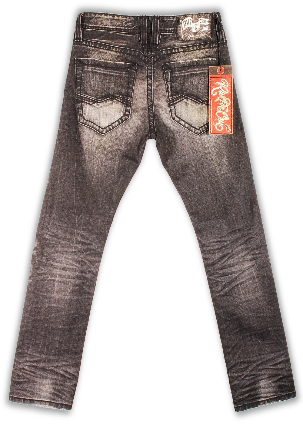 151-143M Tarmac Wash Jean - Rivet De Cru Jeans - Premium Denim - Mens Fashion - Mens Clothing - Mens Jeans - Mens Denim - 2