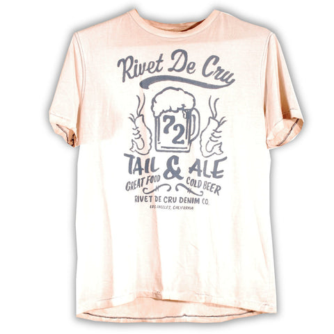 154-252 Tail and Ale T-shirt - Rivet De Cru Jeans - Premium Denim - 1