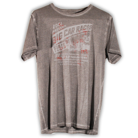 155-273 Big Car Races T-shirt - Rivet De Cru Jeans - Premium Denim - Mens Fashion - Mens Clothing - Mens Jeans - Mens Denim - 1