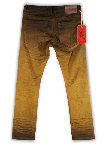 159-120M Sage Khaki Jeans - Rivet De Cru Jeans - Premium Denim - Mens Fashion - Mens Clothing - Mens Jeans - Mens Denim - 2