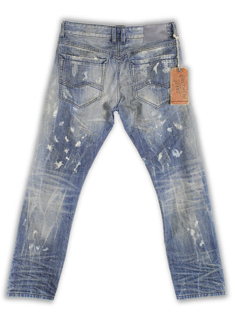161-004M Blue Bell Jeans - Rivet De Cru Jeans - Premium Denim - Mens Fashion - Mens Clothing - Mens Jeans - Mens Denim - 2