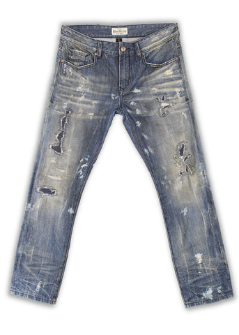 161-004M Blue Bell Jeans - Rivet De Cru Jeans - Premium Denim - Mens Fashion - Mens Clothing - Mens Jeans - Mens Denim - 1